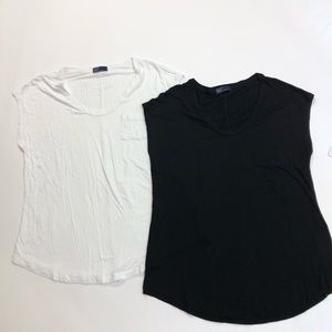 NWT GAP Set of 2 Rayon T-shirts